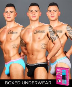 Boy Brief Unicorn 3-Pack w/ Almost Naked