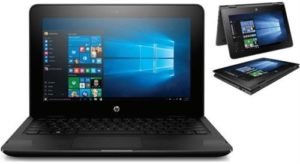 HP x360 Series Convertible 2 in 1 IPS MultiTouch Screen Notebook