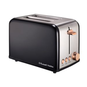 Russell Hobbs 2 Slice Toaster with Rose Gold Trim