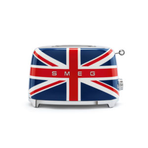 Smeg Retro Union Jack 950W 2 Slice Toaster