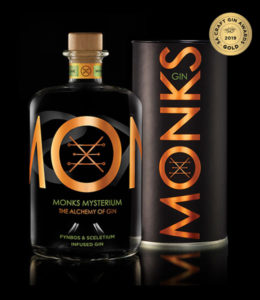 Monks Mysterium Gin 750ML