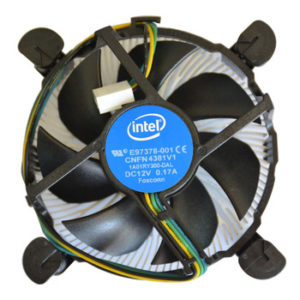 CPU Heat sink and Fan-Intel